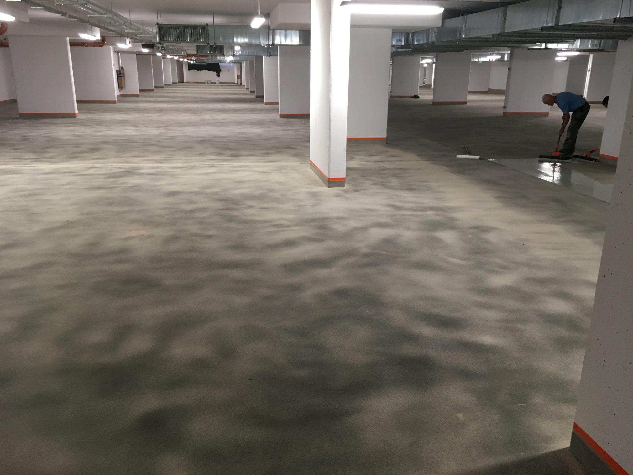 parking podziemny TK Kraków