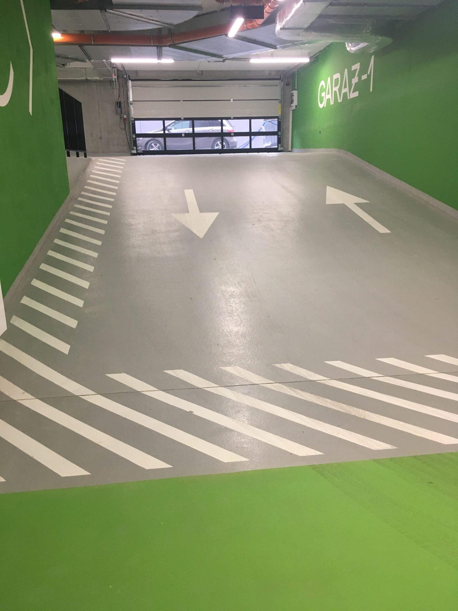 Posadzka parking system TK Wrocławska